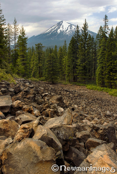 Mt. McLoughlin Brown Mountain Lava Flow