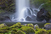 Elowah Falls. Taken in the Columbia River Gorge National Scenic Area, Oregon, USA.