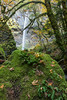 Elowah Falls, taken from Elowah Creek. Taken in the Columbia River Gorge National Scenic Area, Oregon, USA.