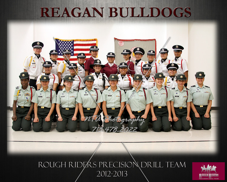 Rough Riders Precision Drill Team 8X10