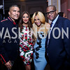 Executive Vice President and General Manager of Centric Paxton Baker and Rachel Baker, Tamar Braxton and Lady Gaga's producer Vincent Herbert. Photo by Tony Powell. 2014 BET Honors Dinner. Museum for Women in the Arts. February 7, 2014