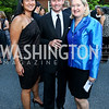 Trish Yan, Michael Rankin, Lee Guerry. Photo by Tony Powell. 2014 Hillwood Gala. June 3, 2014