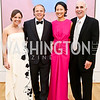 Sally and Mark Ein, Emily and Mitch Rales. Photo © Tony Powell. 2014 Phillips Collection Gala. May 16, 2014