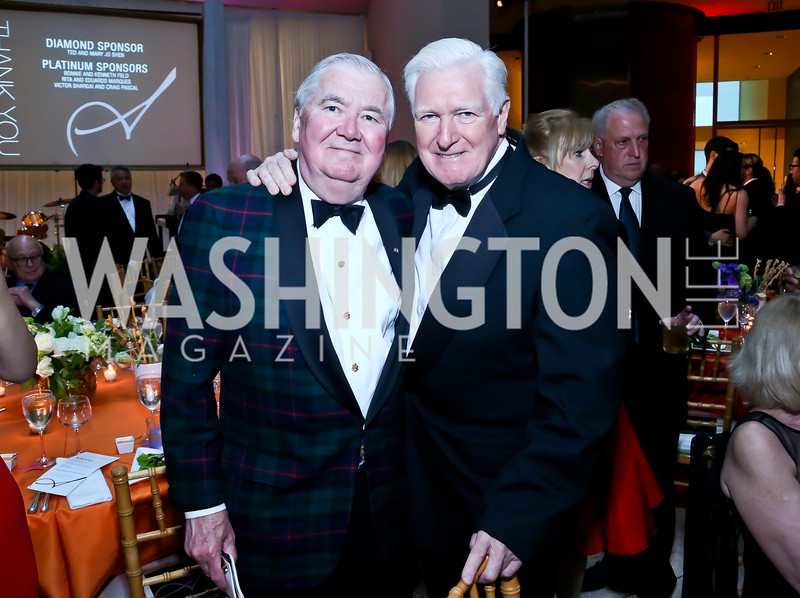 Bob Perry, Rep. Jim Moran. Photo by Tony Powell. Signature Theatre's Annual Sondheim Gala. Italian Embassy. April 7, 2014