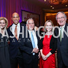 Katherine Bradley, Sen. Corey Booker, Walter Isaacson, NEED, Sen. Tom Harkin. Photo by Tony Powell. 2014 Teach for America Gala. Omni Shoreham. March 13, 2014