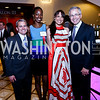 Matt McKinnis, Tameka Young, Kathy Dalby, Paul Smedberg. Photo by Tony Powell. 2014 Tim Russert Congressional Dinner. JW Marriott. May 22, 2014