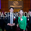 Milos Milosevic, Jessica Schneickert. Photo by Tony Powell. 2014 Tim Russert Congressional Dinner. JW Marriott. May 22, 2014