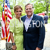 Kristi Rogers and Rep. Mike Rogers. Photo by Tony Powell. WHCD Garden Brunch. Ein Residence. May 3, 2014
