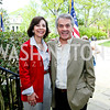 Susie Westmacott and British Amb. Sir Peter Westmacott. Photo by Tony Powell. WHCD Garden Brunch. Ein Residence. May 3, 2014