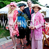 Ioana Lee, Rhoda Septilici, Portugal Amb. Nuno and Rosa Brito. Photo by Tony Powell. Woodrow Wilson Garden Party. May 14, 2014