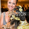 Stacy McCosky (with Sadie), 27th Annual Bark Ball, hosted by the Washington Humane Society, Washington Hilton, Saturday, June 14, 2014.  Photo by Ben Droz.