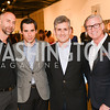 Brian Fell, Christopher Boutlier, James Meyer, Robert Shields,33rd Annual, Washington Project for the Arts, Art Auction, Gala, SELECT, at, Artisphere, Saturday, March 22, 2014,  Photo by Ben Droz.