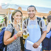 Jessica Salpini, Chris Gibson, Brew at the Zoo, at the National Zoo, Thursday, July 17, 2014, Photo by Ben Droz
