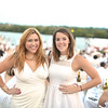 Quin Woodward Pu, Allison Brill, The global phenomenon secret dinner party, Diner en Blanc, attracted over 1,300 guests all wearing white.  The Yards Park, Thursday, September 4, 2014.  Photo by Ben Droz