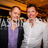 Gabe Eveland, Gus Pitkethley, Grand Re-Opening of POV Lounge at the W Hotel, Friday September 12, 2014, Photo by Ben Droz.