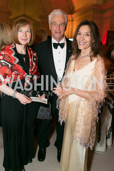 Vivienne Kelley, Robert Kelley, Gudrun Jeffrey. Photo by Alfredo Flores. Fifth Annual Nowruz Commission Gala. Andrew W. Mellon Auditorium. March 15, 2014