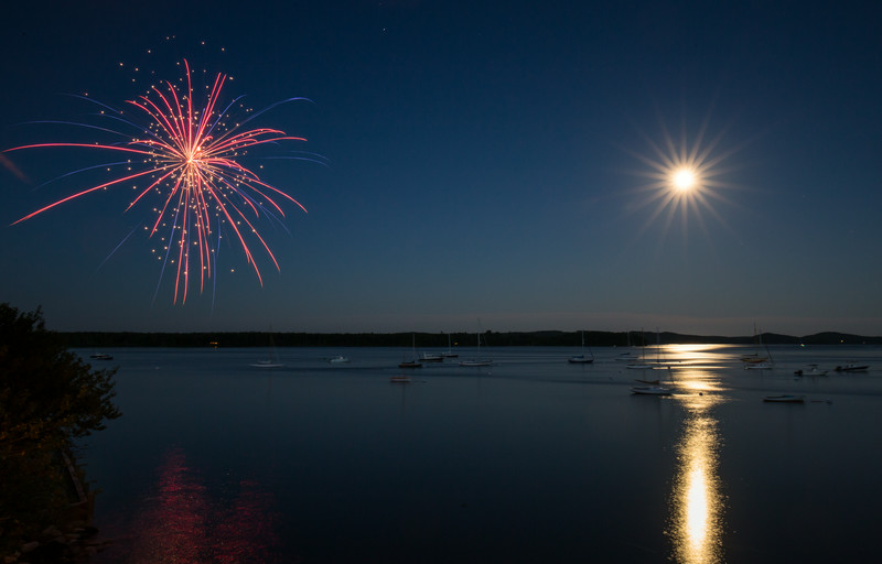 Full Moon Fireworks