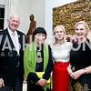 Michael Pillsbury, Amy Tan, Willee Lewis, Susan Pillsbury. Photo by Tony Powell. PEN Faulkner Supper with Amy Tan and Deborah Tannen. Pillsbury residence. March 2, 2014