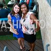 Sarah Vining, Kadija Fofana. Photo by Tony Powell. The Embassy Row Hotel Rooftop Opening. July 16, 2014