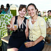 Esther Kern, Kimberly Frank. Photo by Tony Powell. The Embassy Row Hotel Rooftop Opening. July 16, 2014