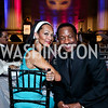 Pamela and Donnie Simpson. Photo by Tony Powell. UNCF Masked Ball. Mellon Auditorium. March 27, 2014