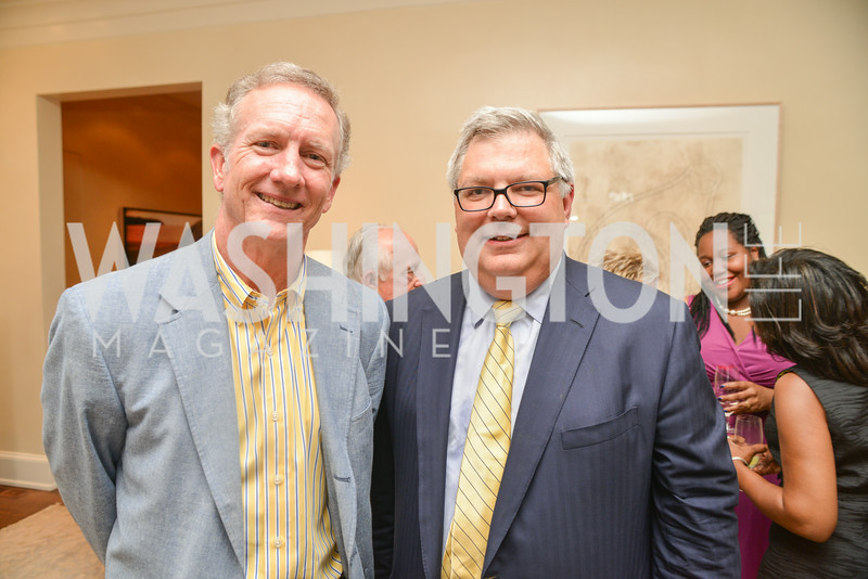 William Dunbar, Jeffrey Schragg, A Celebration of Venture Philanthropy Partners at the home of Jack Davies and Kay Kendall, Wednesday June 18, 2014.  Photo by Ben Droz.