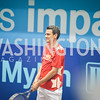 Congressman Kevin Yoder,  Washington Kastles Congressional Charity Classic, GW Smith Center, Tuesday, July 15, 2014, Photo by Ben Droz.