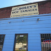 For some reason, tamales are the one Spanish dish that embedded itself in Mississipian culture. Picked up a half dozen tamales to go from Solly's in Vicksburg before heading south.