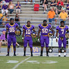 Tarboro Captains for tonights game. Tarboro defeats Nash Central <br /> 33-6 in the season opener. Friday August 22, 2014 in Tarboro, NC (Photos By Anthony Barham)