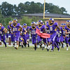 Tarboro takes the field for tonights game. Tarboro defeats Nash Central  33-6 in the season opener. Friday August 22, 2014 in Tarboro, NC (Photos By Anthony Barham)