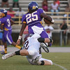 """Tarboro """"Tay """" Battle # 25 during tonights game. Tarboro defeats Nash Central  33-6 in the season opener. Friday August 22, 2014 in Tarboro, NC (Photos By Anthony Barham)"""
