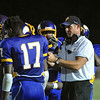 Tarboro's Head coach Jeff Craddock during tonights game. Tarboro defeats Nash Central  33-6 in the season opener. Friday August 22, 2014 in Tarboro, NC (Photos By Anthony Barham)