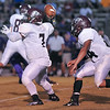 Nash Central QB Dmarko Brown #7 during tonights game. Tarboro defeats Nash Central  33-6 in the season opener. Friday August 22, 2014 in Tarboro, NC (Photos By Anthony Barham)