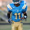 Beddingfield Deonta Cannady #11 during tonights game. Beddingfield defeats Southern Nash 19-7 on Thursday night August 28, 2014 in Wilson NC (Photos By Anthony Barham)