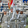 Beddingfields ROTC before tonights game .Beddingfield defeats Southern Nash 19-7 on Thursday night August 28, 2014 in Wilson NC (Photos By Anthony Barham)
