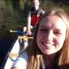 Wieke from the Netherlands takes a canoe trip with her host family in Utah.