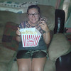 Laura from France tries kettle corn and sweet tea for the first time in Texas.