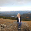 Celina from Germany takes in the beautiful landscapes near Mt. Evans in Colorado.