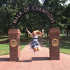 Lotte from Germany enjoys her time in Mississippi.