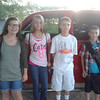 Laura from France gets ready for her first day of school with her host siblings in Texas.