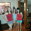 Rosanna from Hong Kong gets ready to go shopping with her host sisters in Texas.