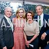 David and Katherine Bradley, Leader Nancy Pelosi and Paul Pelosi. Photo by Tony Powell. 2015 Bradley WHCD Welcome Dinner. April 24, 2015