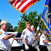 The Lamar VFW Post Color Guard led the 2014 Sand & Sage Parade down Main Street on Saturday, Aug. 9.