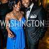 Rayna Smith, Jamal Ahmed. Photo by Alfredo Flores.  United Negro College Fund 2015 Washington Mayor's Masked Ball. Andrew W Mellon Auditorium. March 7, 2015.CR2
