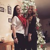 Lorena from Germany gets ready for Christmas Eve with her host sister Keeley in Texas.