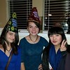Rosanna from Hong Kong celebrates New Years Eve with her host sisters in Texas.