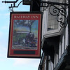 Pub Sign - Railway Inn, Brook Street, Chester 101110