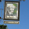 Pub Sign - The Pied Bull, Northgate Street, Chester 101110