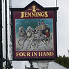 Pub Sign - Four in Hand, Lake Road, Keswick 140325