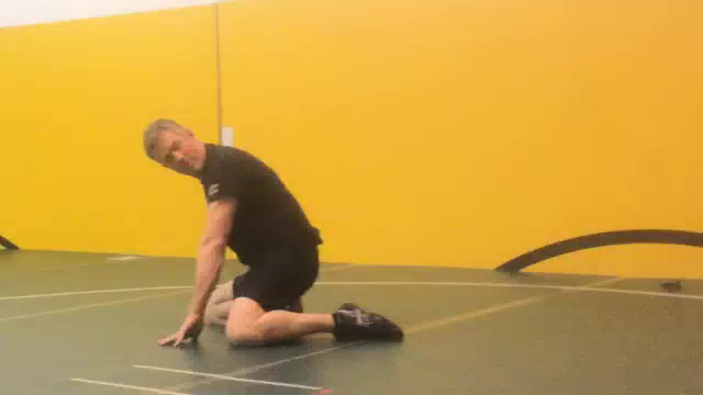 Sliding Standup after defending the Arm-Chop